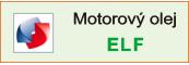 Motorový olej Elf