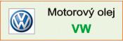 Motorové oleje VW