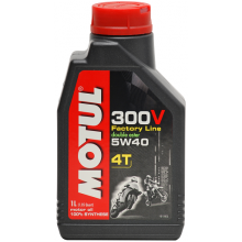 MOTUL 300V FACTORY LINE ROAD RACING 4T 5W-40 1L
