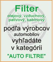 Filtre - ponuka automobilových filtrov