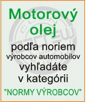 Motorové oleje - mormy výrobcov