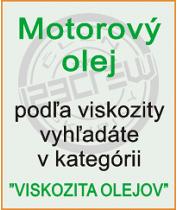 Motorové oleje - viskozita olejov