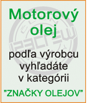 Motorové oleje - výrobcovia olejov