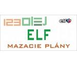 mazací plán - ELF - motorove oleje