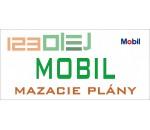 mazací plán - MOBIL - motorove oleje