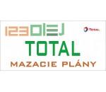 mazací plán - TOTAL - motorove oleje