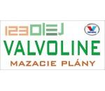 mazací plán - VALVOLINE - motorove oleje