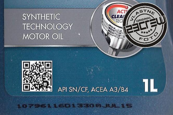 dátum výroby motorového oleja SHELL HELIX HX7 10W-40